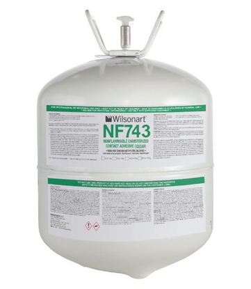 Picture of Wilsonart 743-30 Clear Non-Flam Contact Cement 30lbs Canister