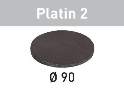 Picture of Abrasive sheet Platin 2 STF D 90/0 S1000 PL2/15