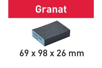 Picture of Abrasive sponge Granat 69x98x26 120 GR/6