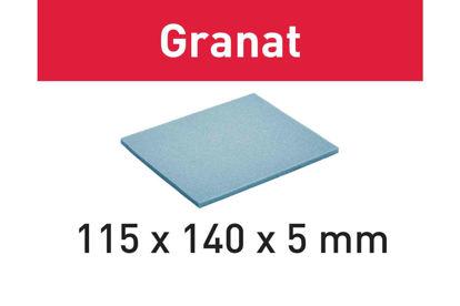 Picture of Abrasive sponge Granat 115x140x5 MF 1500 GR/20