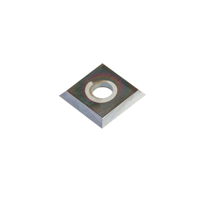 Picture of AMA-12-DLC Solid Carbide 4 Cutting Edges Diamond-Like Carbon (DLC) Coated Insert Knife 12 x 12 x 1.5mm
