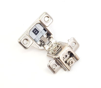 """Picture of Salice 1 3/8"""" Overlay Hinge Screw On - Full Overlay (3 Cam)106° Opening Angle in Nickel"""