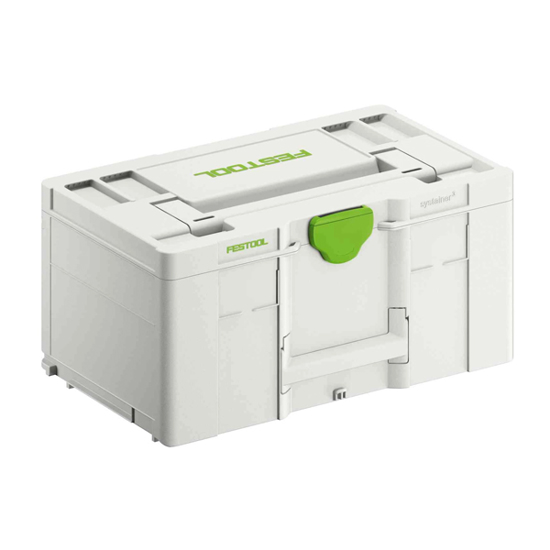 Picture of Systainer  SYS3 L 237