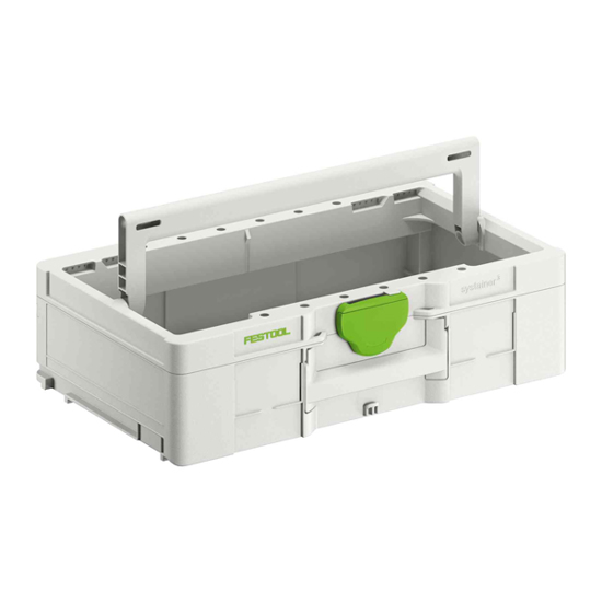 Picture of Systainer³ ToolBox SYS3 TB L 137